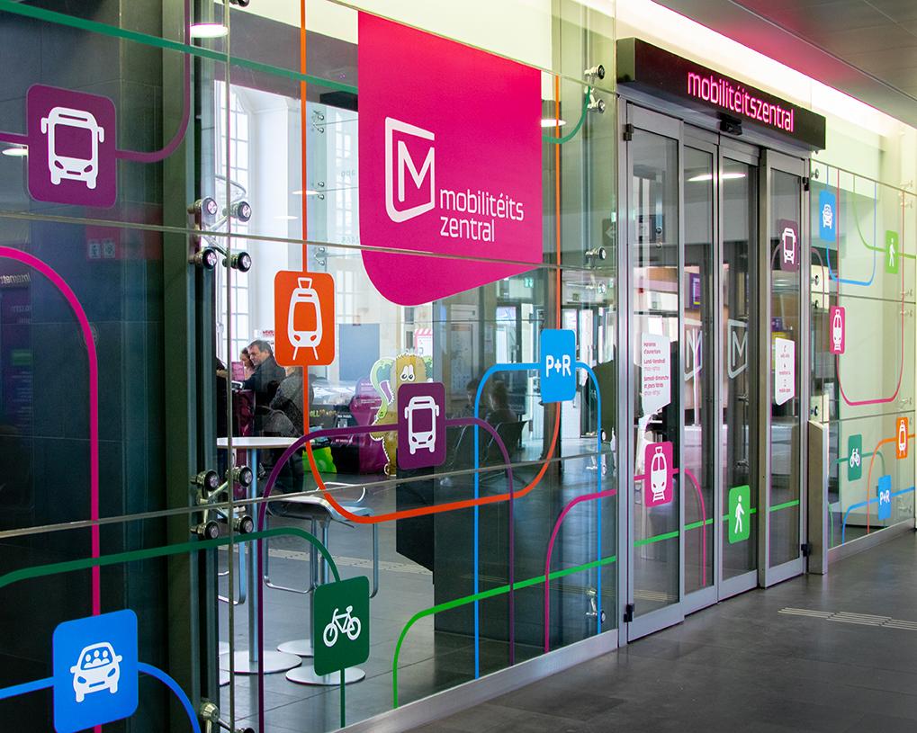 Mobilitéitszentral à la Gare centrale