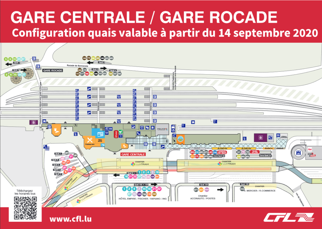 Gare routière Luxembourg