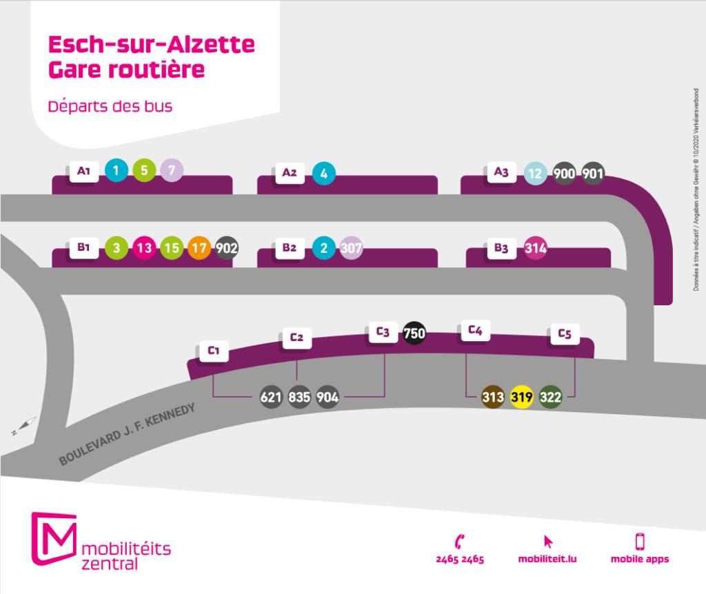 Gare routière Esch-sur-Alzette